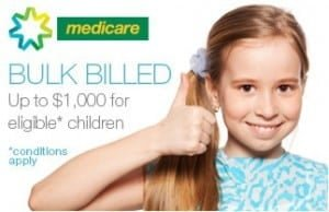 CDBS Medicare Child Dental benefits